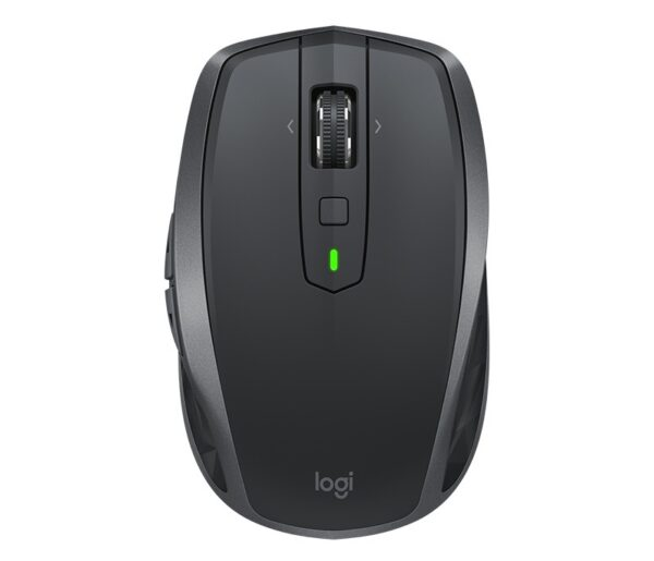 """MOUSE LOGITECH PC sau NB, wireless, Bluetooth, laser, 4000 dpi, butoane/scroll 7/1, grafit, Unifying Receiver, """"MX Anywhere 2S"""" """"910-005153"""" (include TV 0.15 lei)"""