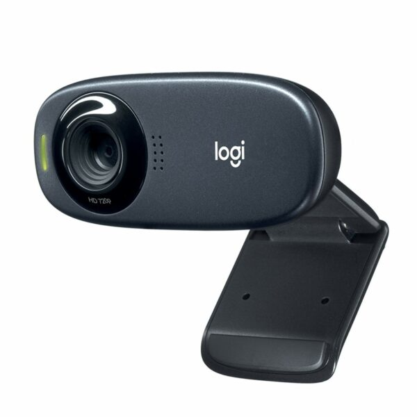 "CAMERA web LOGITECH C310, HD 720 rez 1280 x 720, USB 2.0, microfon, negru, ""960-001065"" (include TV 0.15 lei)"