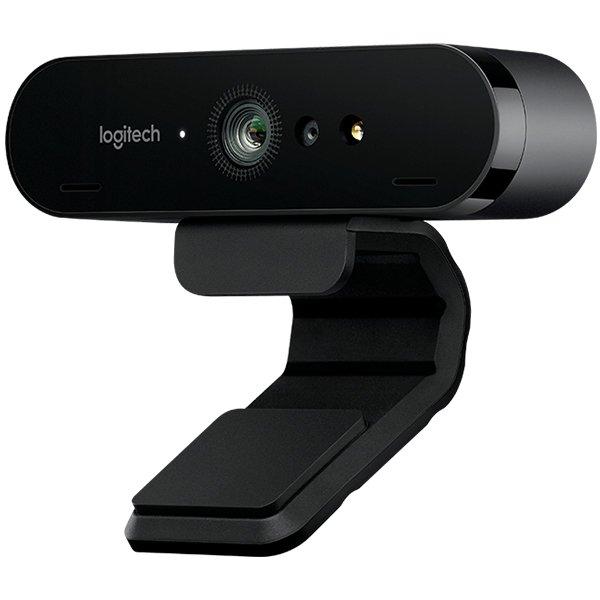 "CAMERA web LOGITECH BRIO 4k, 4K UHD rez 3840 x 2160, USB 3.0, microfon, negru, ""960-001106"" (include TV 0.15 lei)"
