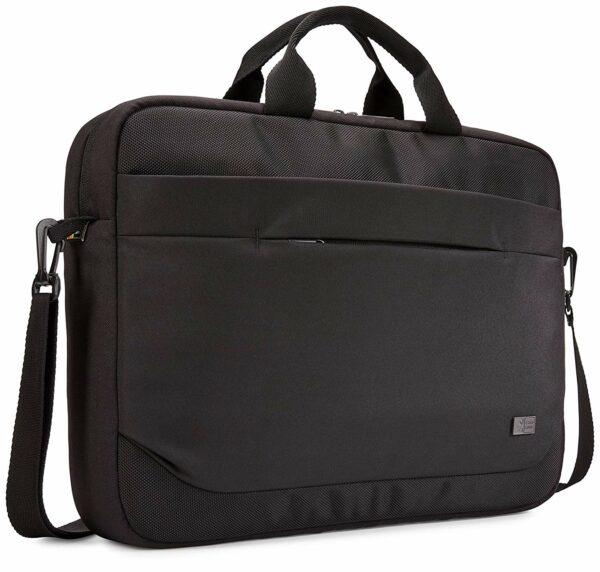 """GEANTA CASE LOGIC, pt. notebook de max. 15.6″, 1 compartiment, buzunar frontal x 2, waterproof, poliester, negru, """"Advantage"""", """"ADVA-116 BLACK"""" / 3203988"""