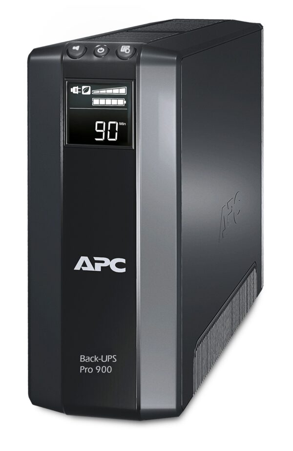UPS APC Back-UPS RS line-interactive / aprox.sinusoida 900VA / 540W 5conectori Schuko CEE7, baterie APCRBC123, optional extindere garantie cu1/3 ani (WBEXTWAR1YR-SP-01/WBEXTWAR3YR-SP-01)