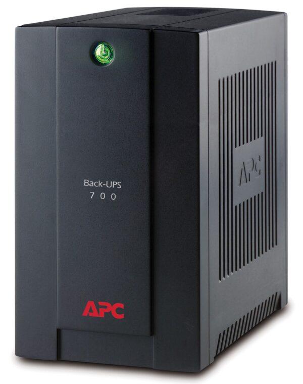 "UPS APC Back-UPS BX line-interact/aprox.sin 700VA / 390W 4conectori Schuko CEE7, baterie APCRBC110, optional extindere garantie cu1/3 ani (WBEXTWAR1YR-SP-01/WBEXTWAR3YR-SP-01) ( incl. tv 3 lei),""BX700U-GR"""