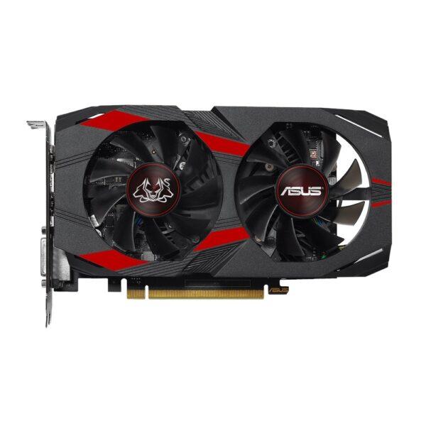 "PLACA VIDEO ASUS NVIDIA Cerberus GeForce GTX 1050 Ti OC, 4 GB GDDR5 128 biti, PCI Express 3.0 x 16, HDMI, DVI, Display Port, sistem racire aer activ, ""CERBERUS-GTX1050TI-O4G"""