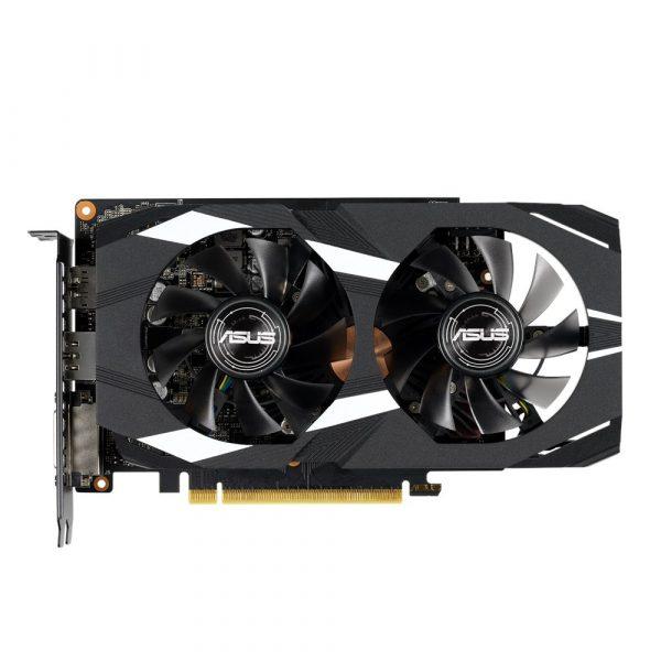 """PLACA VIDEO ASUS NVIDIA GeForce GTX 1660 TI, 6 GB, 192 bit, PCIE 3.0 16x, GDDR6, Memory 12002 MHz, GPU clock 1500 MHz, GPU boost clock 1800 MHz, 7680×4320, Cooling Dual Slot Fansink, 1xDVI, 2xHDMI, 1xDisplayPort,""""DUAL-GTX1660TI-O6G"""""""