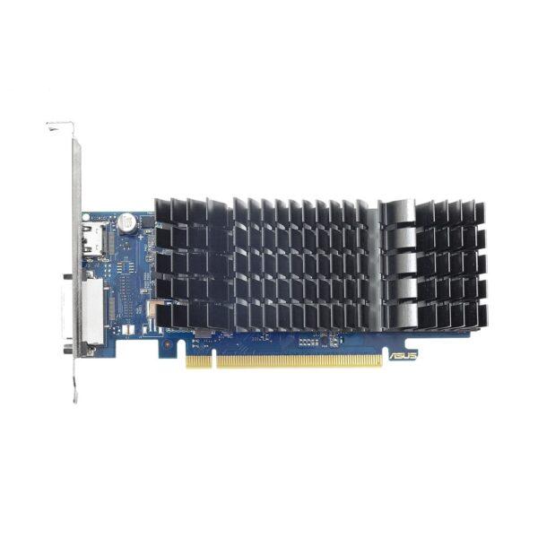"PLACA VIDEO ASUS NVIDIA GeForce GT 1030, 2 GB GDDR5 64 biti, PCI Express 3.0 x 8, HDMI, DVI, sistem racire aer pasiv, ""GT1030-SL-2G-BRK"""