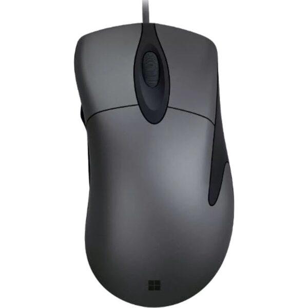 "MOUSE MICROSOFT PC sau NB, cu fir, USB, optic, 3200 dpi, butoane/scroll 5/1, negru/ gri, butoane programabile, ""CLASSIC INTELLIMOUSE"" ""HDQ-00006"""