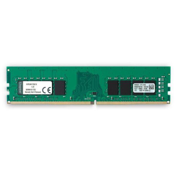 "DIMM KINGSTON DDR4/2400 16GB, 1.2V, ""KVR24N17D8/16"""