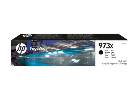 "Cartus Cerneala Original HP Black, nr.973x, pentru PageWide Pro 452 Pro 477, , incl.TV 0.11 RON, ""L0S07AE"""