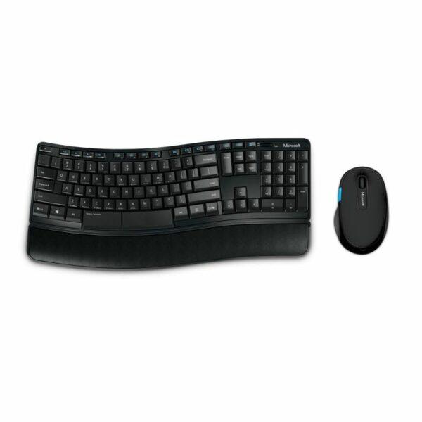 "KIT wireless MICROSOFT, tastatura wireless + mouse wireless 3 butoane ""Sculpt Comfort"" ""L3V-00021"" (include TV 0.5 lei)"