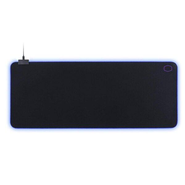 "MousePAD COOLER MASTER gaming, cauciuc si material textil, 940 x 380 x 3 mm, negru, iluminat RGB ""MPA-MP750-XL"""