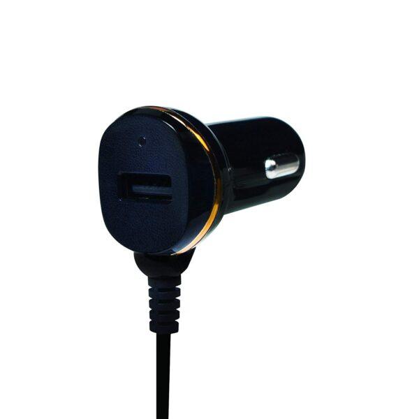 """ALIMENTATOR AUTO LOGILINK, 2 x USB 2.0, pt. bricheta auto 1 x USB 2.0, cablu micro-USB 1 x USB 2.0, 0.4m cablu, maxim 2.1A, black, """"PA0147"""""""