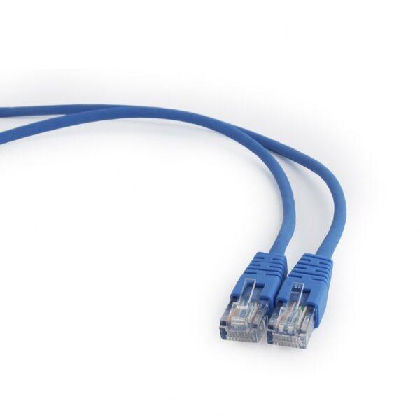 """PATCH CORD UTP GEMBIRD Cat5e, cupru-aluminiu, 1.5 m, albastru, AWG26, """"PP12-1.5M/B"""""""