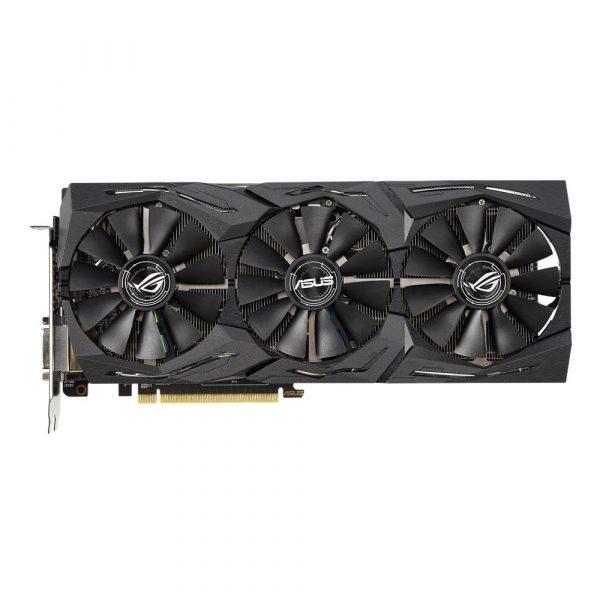 "PLACA VIDEO ASUS AMD Radeon RX 590, Graphics memory size 8 GB, 256 bit, PCIE 3.0 16x, GDDR5, Memory clock 8000 MHz, GPU clock 1545 MHz, 7680×4320, Cooling Dual Slot Fansink, 1xDVI, 2xHDMI, 2xDisplayPort, ""ROG-STRIX-RX590-8G-GAMING"""