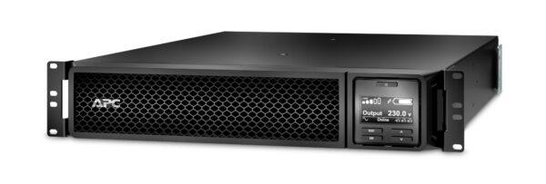 """UPS APC, """"Smart-UPS SRT"""", Online cu sinusoida pura, rack, 2200VA / 1980W, AVR, IEC x 10, 1 x baterie APCRBC141, display LCD, back-up 11 – 20 min., """"SRT2200RMXLI"""""""