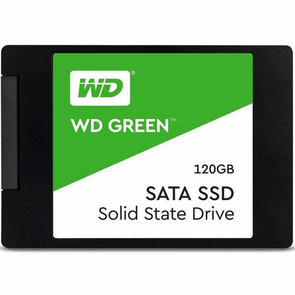 """SSD WD, Green, 120 GB, 2.5 inch, S-ATA 3, 3D TLC Nand, R/W: 540/430 MB/s, """"WDS120G2G0A"""""""
