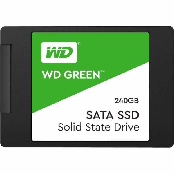 """SSD WD 2.5″ SATA3 240GB, Green Series, 3D TLC """"WDS240G2G0A"""""""