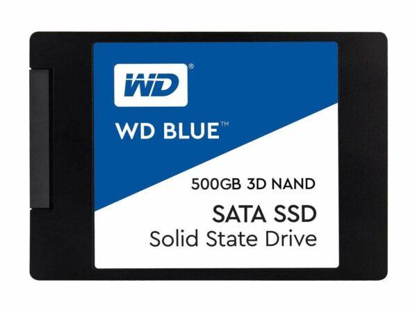 """SSD WD 2.5″ SATA3 500GB, Blue Series, 3D TLC """"WDS500G2B0A"""""""