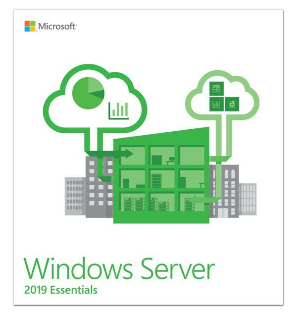 "LICENTA MICROSOFT OEM WIN Server 2019 ESSENTIALS/EN 64B 1PK 1-2CPU ""G3S-01299"""