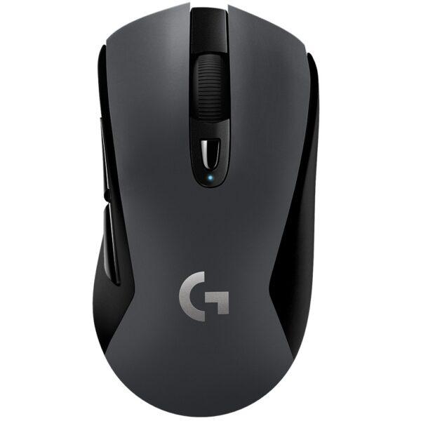 "MOUSE LOGITECH, ""G603"", gaming, wireless, Bluetooth   2.4GHz, optic, 12000 dpi, butoane/scroll 6/1, butoane programabile, mod dual de conectare, negru, ""910-005101"" (include TV 0.15 lei)"