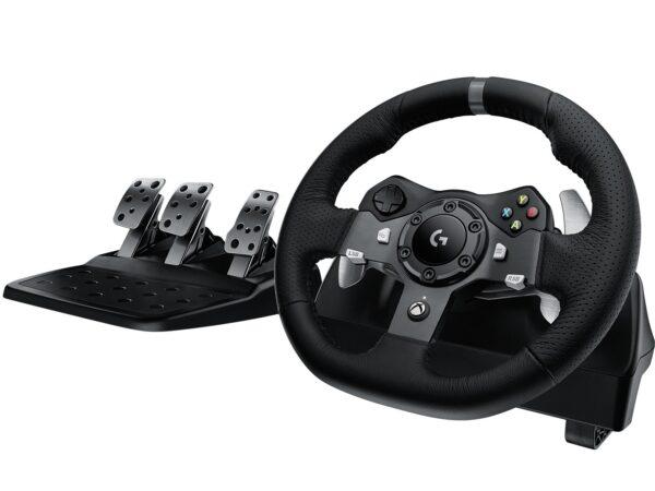 "VOLAN LOGITECH cu vibratie, (PC/Xbox), Driving Force G920, USB ""941-000123"" (include TV 0.75 lei)"