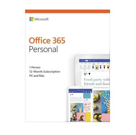 """LICENTA retail MICROSOFT, tip Office 365 Personal pt PC si Mac, 64/32 biti, engleza, 1 utilizator, valabilitate 1 an, utilizare Home, """"QQ2-00790"""""""