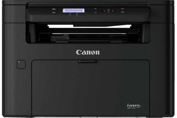"Multifunctional Laser Mono Canon MF113W, A4, Functii: Impr.|Scan.|Cop., Viteza de Printare Monocrom: 22ppm, Viteza de printare color: , Conectivitate:USB|Ret|WiFi, Duplex:Nu, ADF:Nu(incl.TV 15RON) ""2219C001AA"""