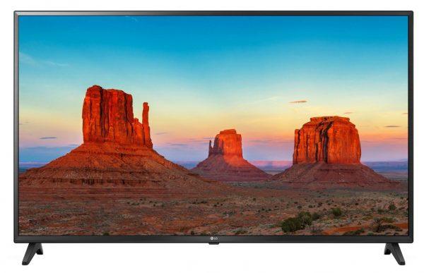 "Televizor LG 43UK6200PLA, LCD, 43″, 4K UHD 3840×2160, IPS, 4K Active HDR, HDR10 Pro, Procesor Quad Core, boxe 20W, Down Firing, Ultra Surround, Clear Voice III, webOS Smart TV, aplicatie LG TV Plus, Bluetooth, Wi-fi ""43UK6200PLA"""
