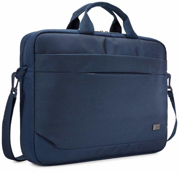 "GEANTA CASE LOGIC, pt. notebook de max. 15.6″, 1 compartiment, buzunar frontal x 2, waterproof, poliester, albastru, ""Advantage"", ""ADVA-116 DARK BLUE"" / 3203989"