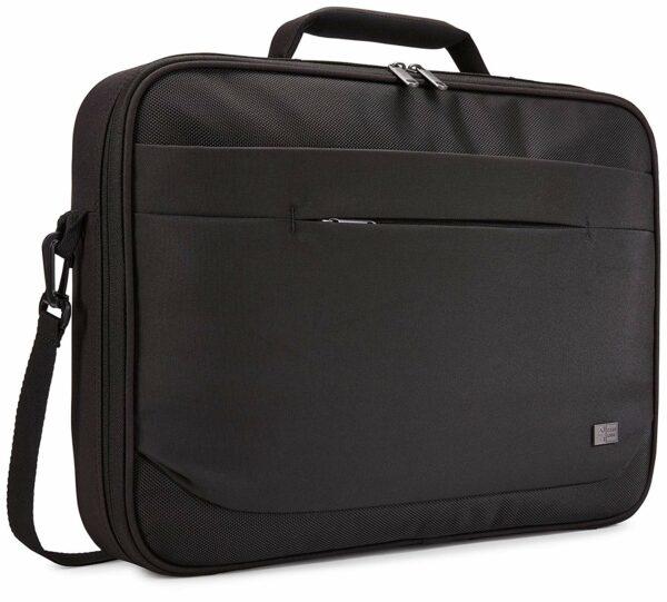 "GEANTA CASE LOGIC, pt. notebook de max. 15.6″, 1 compartiment, buzunar frontal x 2, waterproof, poliester, negru, ""Advantage"", ""ADVB-116 BLACK"" / 3203990"