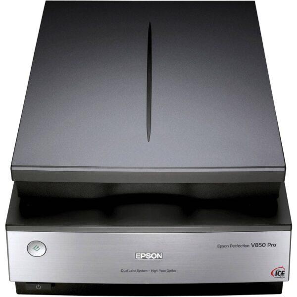 """SCANNER EPSON Perfection V850 Pro Perfection, dimensiune A4, tip flatbed, viteza scanare: 15s/pagina color, rezolutie optica 6400x9600dpi, senzor CCD, scanare film foto, interfata: USB 2.0. """"B11B224401"""""""