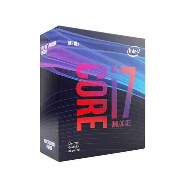 "CPU INTEL, skt. LGA 1151 Core i7, i7-9700KF, frecventa 3.6 GHz, turbo 4.9 GHz, 8 nuclee, putere 95 W, ""BX80684I79700KF"""