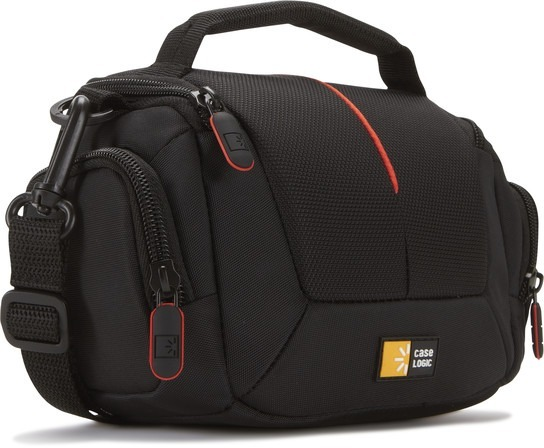 "GEANTA pt. camera compacta, CASE LOGIC, buzunar intern | buzunar lateral x 2, curea detasabila, negru, ""DCB305K""/3201110"
