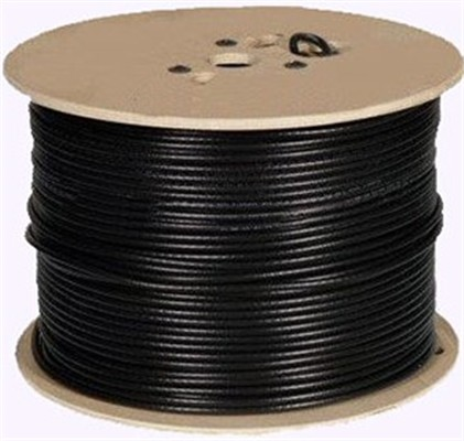 """CABLU coaxial HIKVISION, RG59 CCA, lungime 200 m, Conductor material OFC(Oxygen Free Copper), Braiding material CCA, rating ignifug VW-1, performanta excelenta anti-imbatranire si anti-interferente, """"DS-1LC1SCA-200B"""""""
