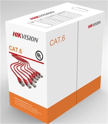 """CABLU U/UTP HIKVISION, cat. 6, 4x23AWG, material cupru integral, ANSI/TIA-568-C.2 PVC, cutie 305 metri, """"DS-1LN6-UU"""""""