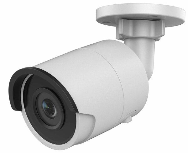 "CAMERA IP HIKVISION, bullet, pt. exterior, dist. IR 30 m, tip lentila fixa 2.8 mm, 4 Mpx, cu fir, PoE, carcasa metal, slot SD card, ""DS-2CD2045FWD-I2.8"""