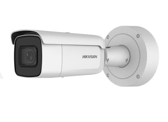 "Camera de supraveghere Hikvision IP Bullet, DS-2CD2685FWD-IZS; 8MP; 1/2″ Progressive Scan CMOS; H.265+/H.265/H.264+/H.264/MJPEG; Color: 0.009 lux@(F1.2, AGC ON), 0 lux with IR; VCA functions; 3 streams; 3D DNR; ""DS-2CD2685FWD-IZS"""