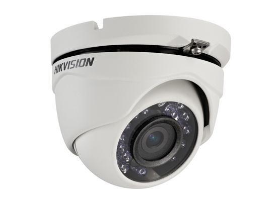 "Camera de supraveghere Hikvision TurboHD Dome, DS-2CE56C0T-IRMF(2.8mm); HD720P, 1MP CMOS Sensor, 24 pcs IR LEDs, 20m IR, Outdoor IR Eyeball, ICR,0.01 Lux/F1.2, 12 VDC, Smart IR, IP66, Wideo perating temperature range(-40xxxx~60xxxx), ""DS-2CE56C0T-IRMF28"""