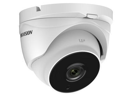 "Camera de supraveghere Hikvision Turbo HD Dome DS-2CE56D8T-IT3ZE(2.8- 12mm); HD1080p, 2MP CMOS Sensor, EXIR, 40m IR, Outdoor EXIR Motorized Vari-focal Eyeball, ICR, 0.005 Lux/F1.2, 12 VDC/built-in PoC, ""DS-2CE56D8TIT3ZE12"""