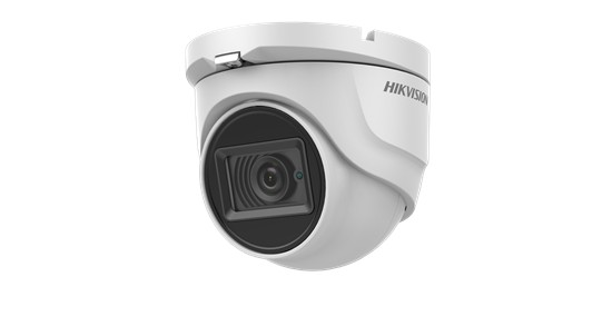 """Camera de supraveghere Hikvision Turbo HD Outdoor Dome, DS-2CE76H8T- ITMF(2.8mm); 5 MP; Fixed Lens: 2.8mm; 5MP@20fps, 4MP@25fps(P)/30fps(N) (Default), EXIR, 20m IR, Outdoor EXIR Turret, ICR, 0.005 Lux/F1.2, 12 VDC, Smart IR, """"DS-2CE76H8T-ITMF28"""""""