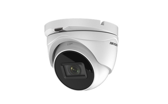 "Camera de supraveghere Hikvision Turbo HD Turret, DS-2CE79U1T-IT3ZF(2.7- 13.5mm); 8.29 Megapixel high-performance CMOS; Auto focus; 3840 x 2160 resolution; 2.7 mm to 13.5 mm motorized vari-focal lens; ""DS-2CE79U1T-IT3ZF"""