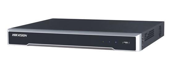 "NVR HIKVISION, 8 canale, Rackabil, capacitate max 6 TB de fiecare HDD, porturi HDMI | VGA | USB 2.0 | Alarm In | Alarm Out | IP video input, ""DS-7608NI-K2/8P"""