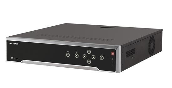 """NVR Hikvision IP 16 canale DS-7716NI-K4;incomingbandwidth:160Mbps;Outgoing bandwidth: 160Mbps;RecordingResolution:8MP/6MP/5MP/4MP/3M P/1080p/UXGA/720p/VGA/4CIF/DCIF/2CIF/CIF/QCIF; 4 xSATA interfaces for 4HDDs; """"DS-7716NI-K4"""""""