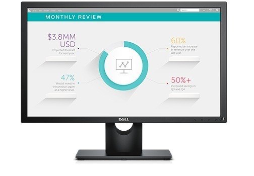 "MONITOR Dell 23″, home or office, IPS, Full HD, 1920 x 1080 60 Hz Wide, 250 cd/mp, 8 ms | 5 ms, VGA | DisplayPort, ""E2318H"""