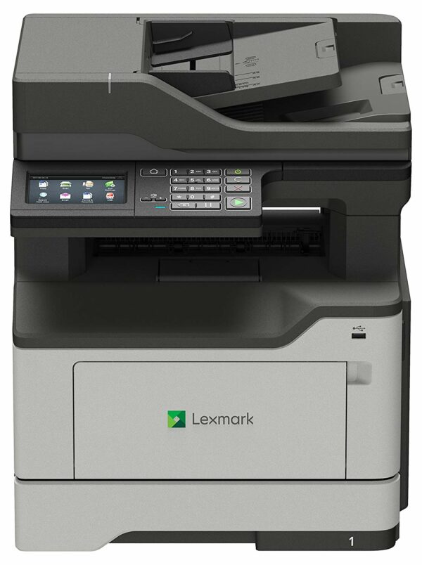 "Multifunctional Laser Mono Lexmark MX421ADE, A4, Functii: Impr. Scan. Cop. Fax, Viteza de Printare Monocrom: 40 ppm, Viteza de printare color: nu e cazul, Conectivitate:USB Retea, Duplex:nu, ADF:ADF(incl.TV 15RON) ""MX421ADE"""