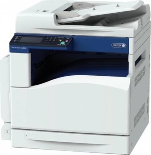 "Multifunctional Laser Color XEROX DocuCentre SC2020, A3, Functii: Impr.|Scan.|Cop., Viteza de Printare Monocrom: 20ppm, Viteza de printare color: 20ppm, Conectivitate:USB|Ret, Duplex:Da, ADF:Nu(incl.TV 60RON) ""SC2020V_U"""