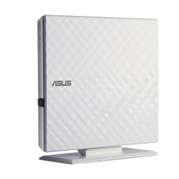 """DVD-RW extern, ASUS, interfata USB 2.0, alb, """"SDRW-08D2S-U/WHT"""""""