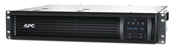 "UPS APC, ""Smart-UPS SMT"", Line Int. cu sinusoida pura cu management, rack, 750VA / 500W, AVR, IEC x 4, 1 x baterie APCRBC123, display LCD, back-up 11 – 20 min., ""SMT750RMI2UC"", SP prelungire garantie (WBEXTWAR1YR-SP-02/WBEXTWAR3YR-SP-02),"