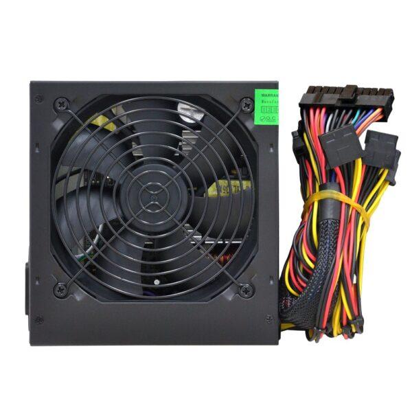 "SURSA SPACER 550 (300W for 550W Desktop PC), fan 120mm, PFC activ, protectii SCP/OPP/OTP/OVP/UVP, 1x PCI-E (6+2), 3x SATA, 1x EPS (4+4), retail box, ""SPS-ATX-550"""