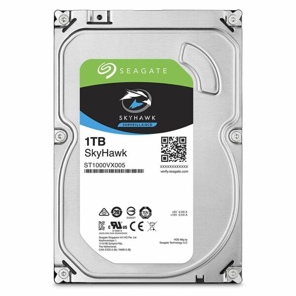"""HDD SEAGATE 1 TB, SkyHawk, 5.400 rpm, buffer 64 MB, pt. supraveghere, """"ST1000VX008"""""""