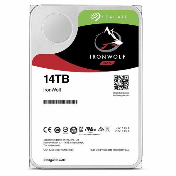 """HDD intern Seagate, 3.5″, 14TB, IronWolf, SATA3, 7200rpm, 256MB """"ST14000VN0008"""""""